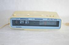 SABA Radio Clock automatik H  / Klappzahlenwecker / 70-er Jahre