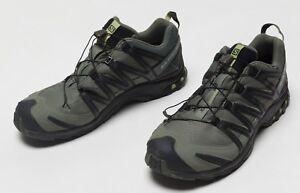 prix compétitif 9b4bb 26a03 Details about Men's Salomon XA PRO 3D CS WP Waterproof Hiking Trail Running  Shoes Size US 14