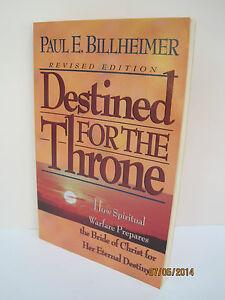 Paul billheimer destined for the throne