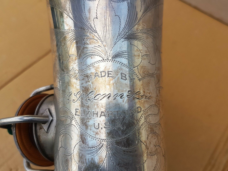 1928 CONN CHU BERRY ALT   ALTO SAX   SAXOPHONE - made in USA