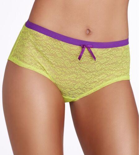 Freya Fancies Short Brief Lime Punch M XL XXL 12 14 16 18 20 dentelle vert 1015