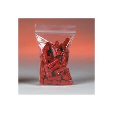 1000 Reclosable Reusable Ziplock Jewelry Plastic FDA USDA Clear Poly Bags 2x6