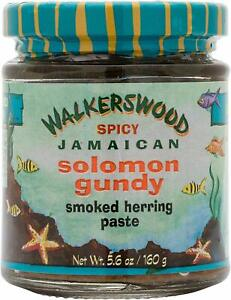 Organic-Spicy-Smoked-Solomon-Gundy-Herring-paste-Walkerswood-Jamaican-5-6oz-160g