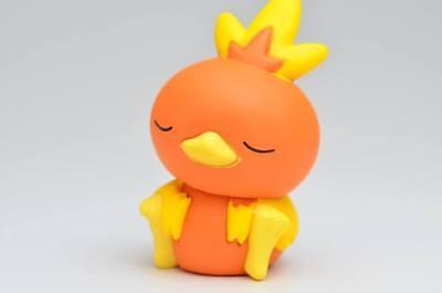 Pokemon Anime Good Night Friends Display Figure Sleeping Series ~ Torchic @82220