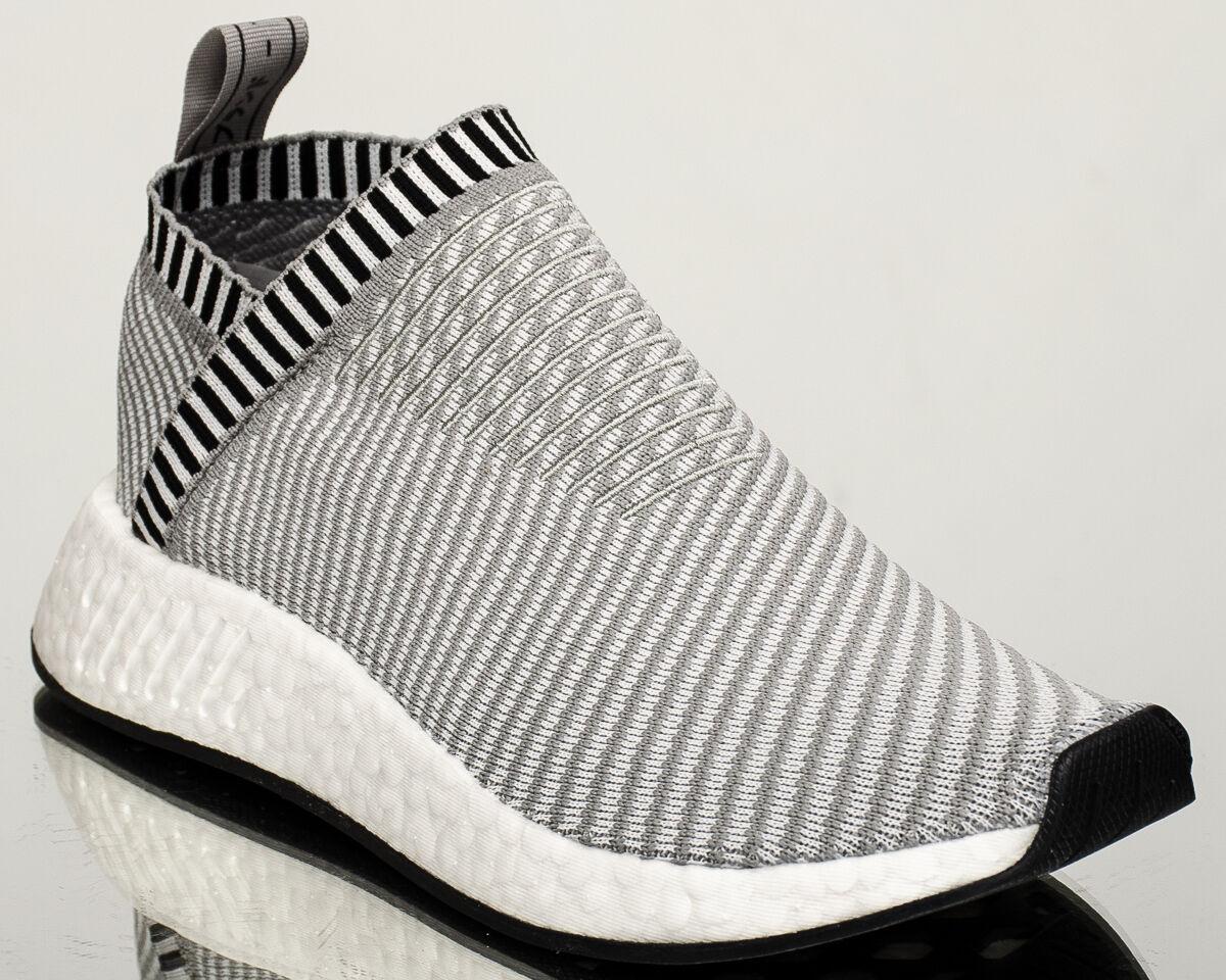 Adidas Originals NMD CS2 Primeknit PK Uomo lifestyle scarpe da ginnastica NEW grey BA7187