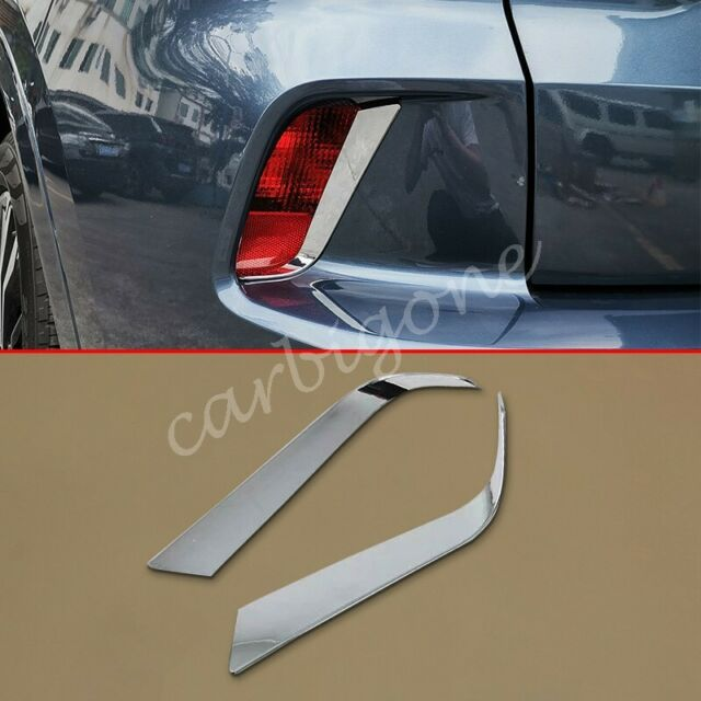 Chrome Rear Fog Light Lamp Cover Mould Trims For Ford Kuga ...