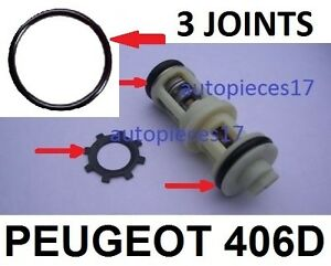 REPARATION DE PANNE SUPPORT FILTRE A GAZOIL  406 DIESEL KIT JOINT CLIPS