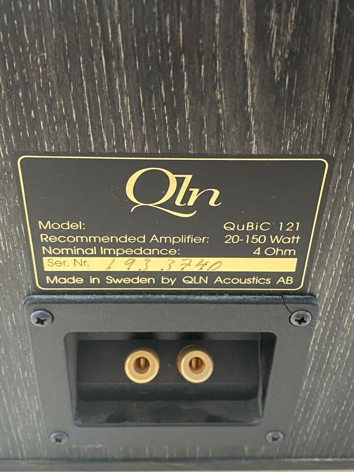 Højttaler, QLN, 121