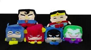 6-Peluches-Cubo-Kawaii-Cubes-Dc-Comis-Nuovo-20x20-Cm-Cube-Batman-Jocker-Wonder