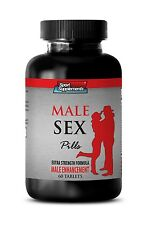 Muira Puama - Male Sex Pills 1275mg - Improvement In Sexual Function Pills 1B