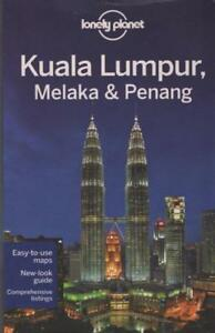 KUALA-LUMPUR-MELAKA-amp-PENANG-MALAYSIA-LONELY-PLANET-TRAVEL-GUIDE-EXCELLENT