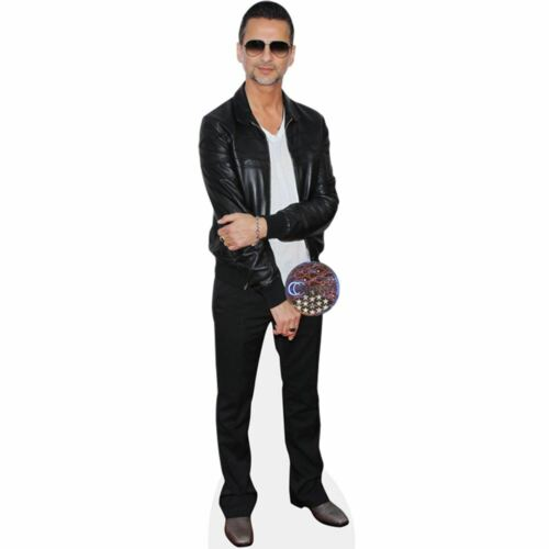 Standee. Cardboard Cutout Leather Jacket Dave Gahan lifesize