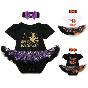 Babys First Halloween Costume Girl.Details About My First Halloween Costume Newborn Baby Girl Pumpkin Fancy Dress Up Cosplay 2pcs