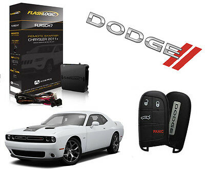 2015-2018 DODGE CHALLENGER REMOTE START ADD ON PLUG /& PLAY SYSTEM PRESS LOCK 3X