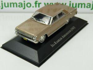 ARG38G-Voiture-1-43-SALVAT-Autos-Inolvidables-IKA-Rambler-ambassador-Renault