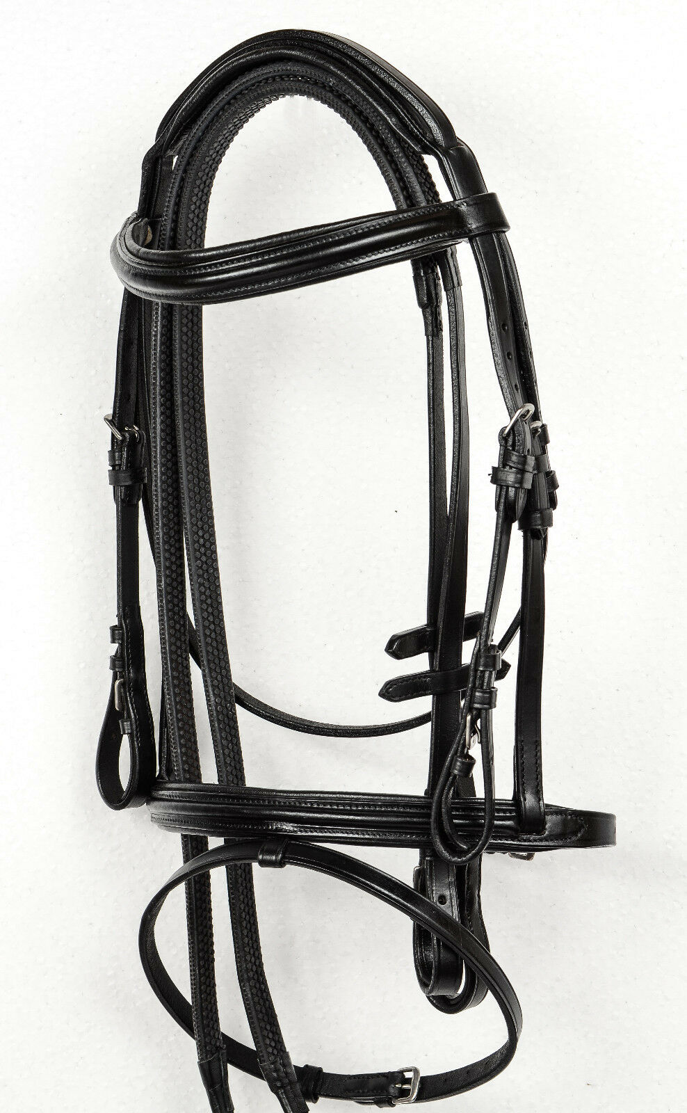 NEW QUALITY PADDED COMFORT LEATHER BRIDLE WITH GRIP REINS. AMAZING VALUE