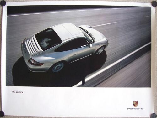 PORSCHE OFFICIAL 911 997 CARRERA DEALER SHOWROOM POSTER 2005-2008