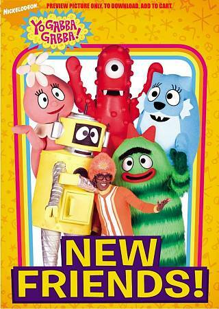 Yo Gabba Gabba New Friends Dvd 2009 For Sale Online Ebay
