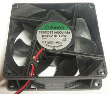 Sunon ventiladores 80x80x25mm ee80252s1-a99 dc 24v 69.64m3/h
