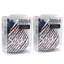 Tangle Teezer Hair Brush Compact Styler - Lulu Guinness - 2pc