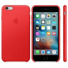newest bc6ec d9cf9 Red Apple 100 Original Natural Leather Case for iPhone 7 Plus