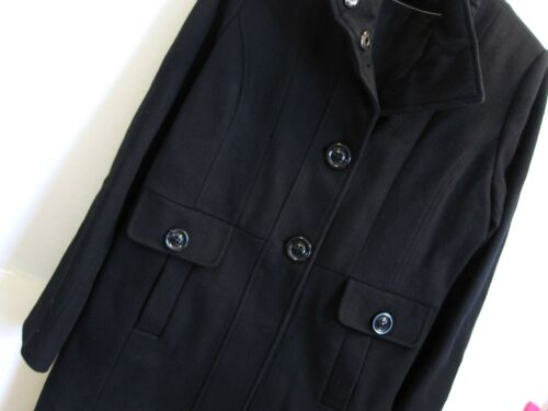 Størrelse Blend Msrp 290 Black Buttons Wool Forecaster 10 Coat M xYw5q5TP6