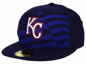 c90745742b8 Official MLB 2015 Kansas City Royals July 4th New Era 59FIFTY Fitted ...