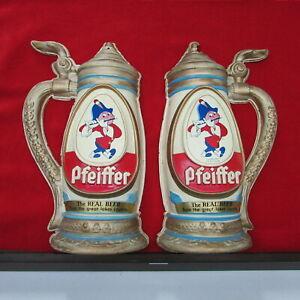 1950/'s Pfeiffer Beer Advertising Bottle Hanger