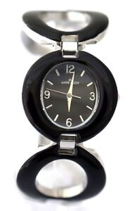 ANNE-KLEIN-10-8769BKSV-Black-Bracelet-Watch-Retail-95