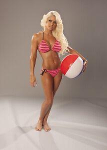 Maryse Wwe Poster 12x18 Sexy Diva Wearing A Bikini WWE NXT