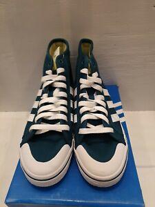 Ladies Adidas Honey Mid W Green High