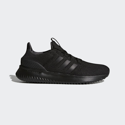 Mens Adidas NEO Cloudfoam Ultimate Black Sneaker Athletic Shoes BC0018 Size 8-14