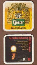 BD - Beermat , Österreich, Brauerei Gösser , Leoben - Göss