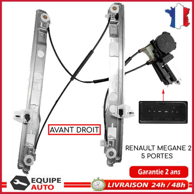 leve vitre mécanisme avec moteur electrique MEGANE 2 BERLINE 5 PORTES