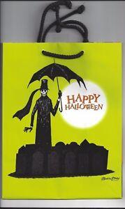 Edward Gorey Gashlycrumb Tinies Halloween Gift Trick Or Treat Bag RARE