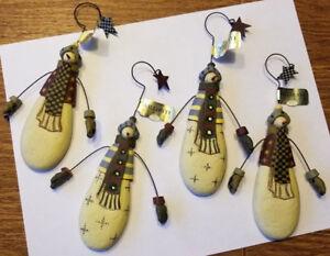 Williraye Studios Large Snowman Ornaments WW2630 New In ...