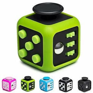Details about Toys Fidget Cube Anxiety Stress Relief ADD ADHD Austism Focus  Calm Distract Toy