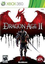 XBOX 360 Dragon Age II Video Game Fun Multiplayer Online Fantasy Full 1080p HD 2