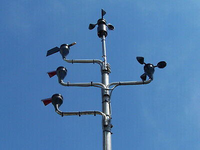 Wind Sensor Anemometer #40 #41 #400,Vane 200P Stainless Steel Mounting Stub//Mast