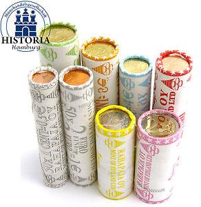 Rollenpaket Finnland 111 Euro 2004 Bf 1 Cent Bis 2 Euro Münzen In 8