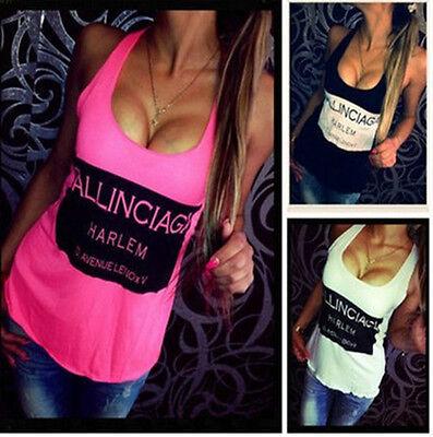 Women Summer Casual Chiffon Sleeveless Vest Shirt Tops Blouse Ladies Top Tank