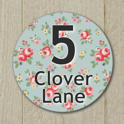 VINTAGE CUSTOM-MADE RUSTIC DOOR SIGN Personalised Blank Shabby Chic House Plaque