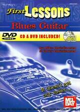 First Lessons Blues Guitar Book/CD/DVD by Christiansen