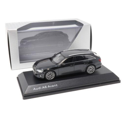 Audi A6 C8 Avant Vesuvgrau 1:43 Modellauto 5011806232 Miniatur Grau Grey