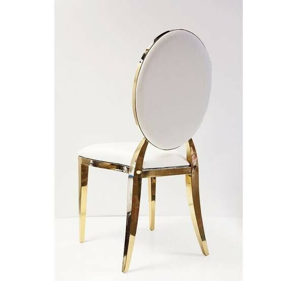 Gold Padded Chairs