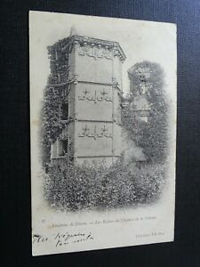 CPA-Environs-de-Dinan-Les-Ruines-du-Chateau-de-la-Garaye