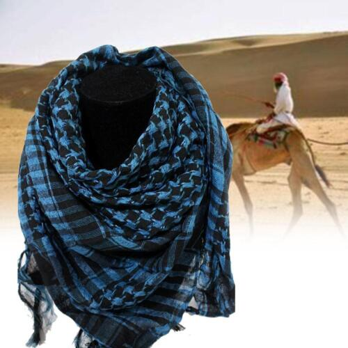 Lightweight Military Arab Tactical Desert Army Shemagh KeffIyeh Scarf Fashion GA