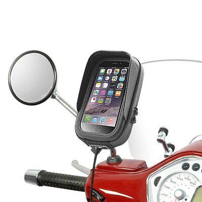 Vespa Roller GTS LX PX Halterung wasserfeste Tasche für Apple iPhone 4 5 SE 6 6S
