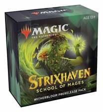 Strixhaven Prerelease Pack Witherbloom Sealed Magic the Gathering Presell