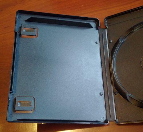 New 10 Pk 14 mm Black Media Storage Box Blu-Ray PS3 Holder PlayStation 3 Case